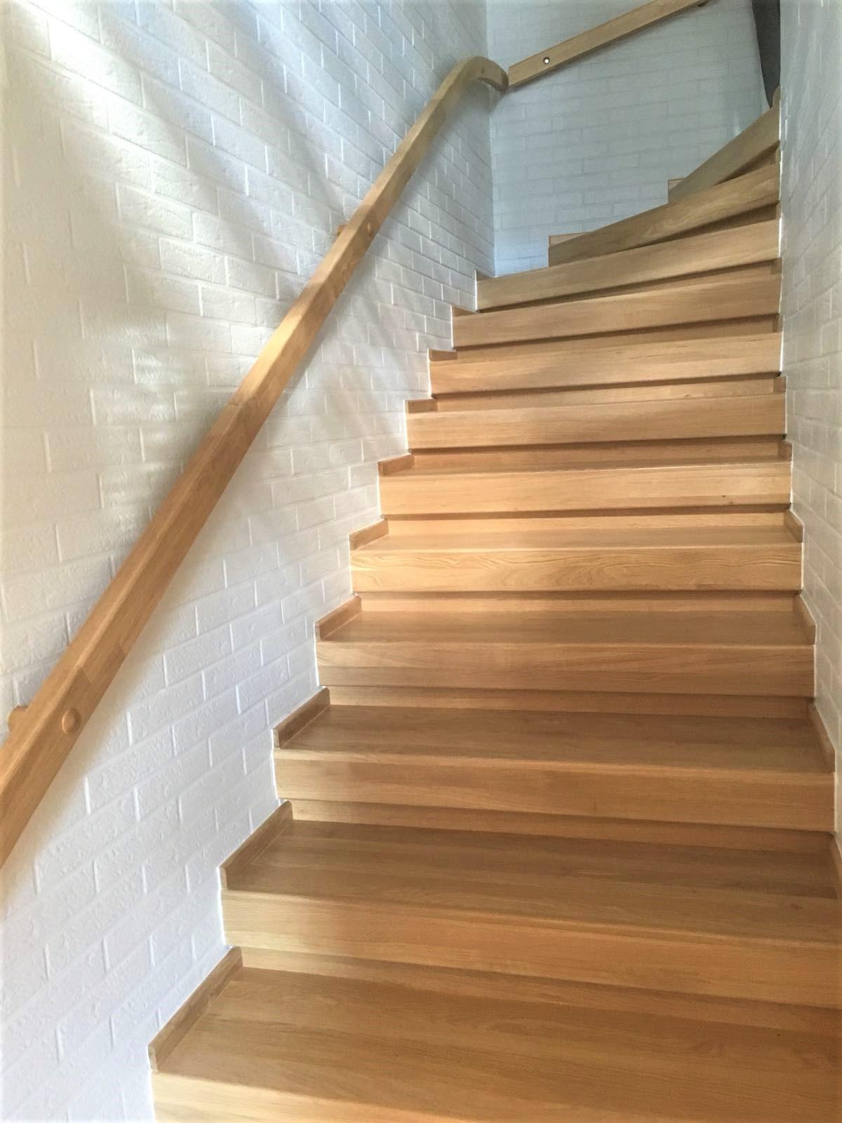aufsetzstufen treppe